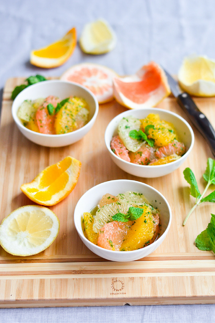 Grapefruit Mint Salad Pin