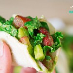 Pineapple and Kale Tacos