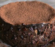 Chocolate Caramel Banana Cake