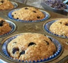Lavender Blueberry Muffins