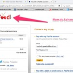 how to change paypal image