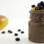 Blueberry Mango Basil Smoothie