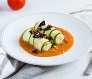 Zucchini Cannelloni with Marinara Sauce