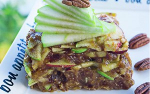 Raw Food Apple Pecan Pie