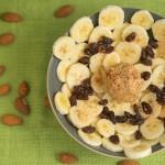 Nutty Banana Raisins