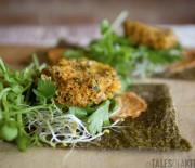 Raw Homemade Veggie Wraps