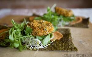 Raw Veggie Wraps