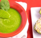 Zucchini Spinach Soup & Sunflower Avocado Bliss