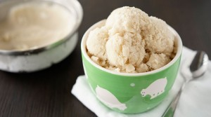 banana almond ice cream