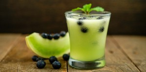 blueberry honeydew agua fresca