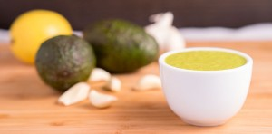garlic avocado dressing