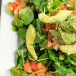 pumpkin seed pesto salad