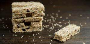 raw sesame seed bars