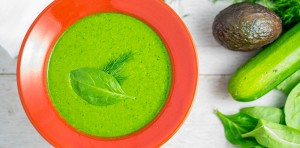 zucchini spinach soup