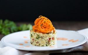 Raw Vegan Couscous Mediterranean Style