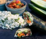 Nori Sushi Rolls With Sunflower Mayo