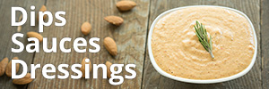 Dips Dressing and Sauces For Raw Food Reset