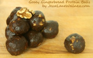 Gingerbread Protein Date Balls FTR