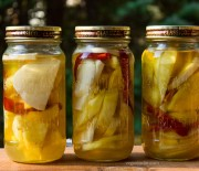 Jicama, Pineapple and Mango Pickles