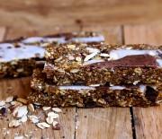 Chocolate Coconut Granola Bars