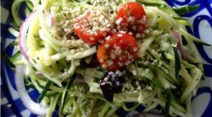 Simple Zucchini Noodle Pasta