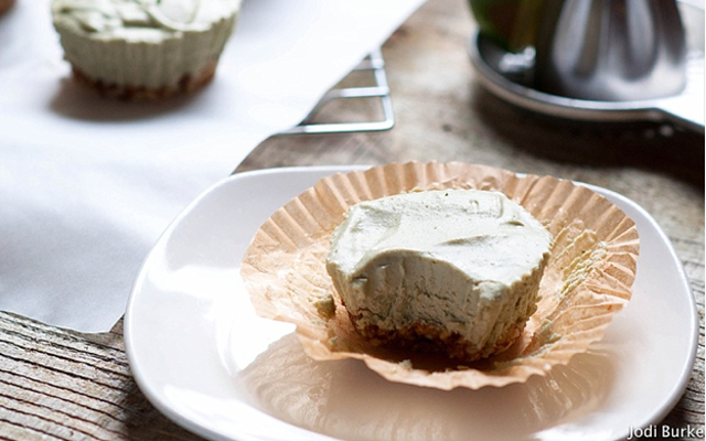Superfood Lime Vegan Cheesecake