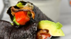 BLT Avocado Nori Wraps FTR