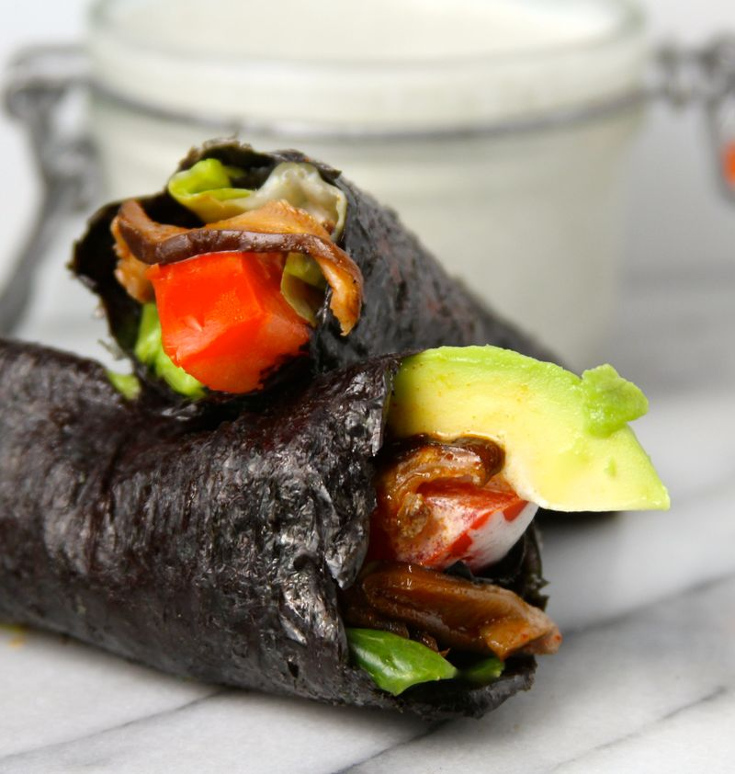 BLT Avocado Nori Wraps