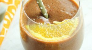 Spinach Berry Orange Smoothie FTR