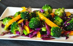 Broccoli Pepper Salad FTR