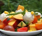 Summer Salad With Vegan Bocconcini