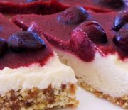 Cherry Lemon Cheesecake