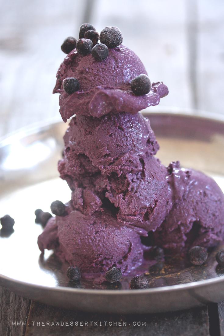 Blueberry Banana Ice cream