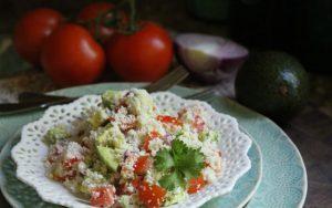 Southwestern Cauliflower Couscous ftr