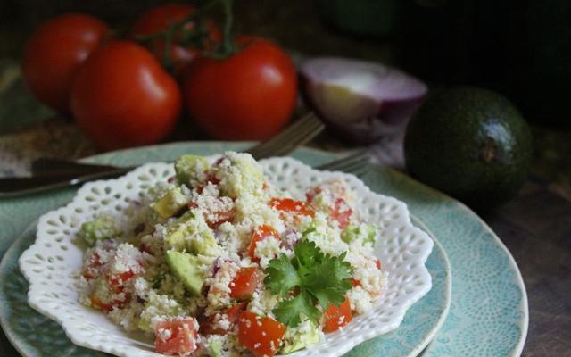 Southwestern Cauliflower Couscous