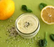 Lemon Hemp Salad Dressing