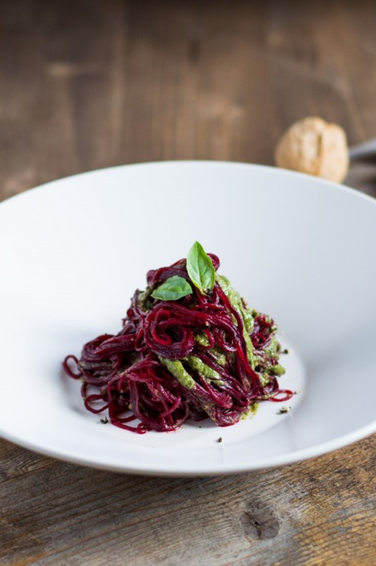 beetroot-spaghetti-with-walnut-pesto
