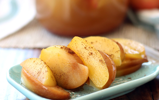 Probiotic Spiced Apples