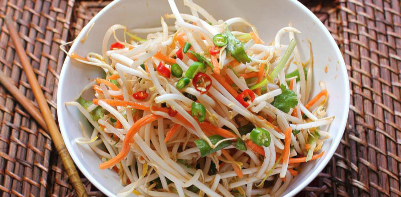 Korean Bean Sprout Salad