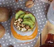 Spiced Persimmon Pudding