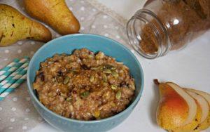 pear oatmeal ftr