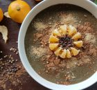 Orange Carob Smoothie Bowl
