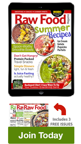 Raw Food Magazine Subscribe 2016