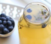 Blueberry and Thyme Meyer Lemonade