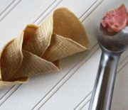Raw Vegan Ice Cream Cones