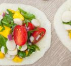 Raw Vegan Hearts of Palm and Mango Ceviche
