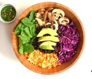 Buddha Bowl with Chimichurri Sauce